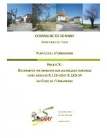 PIECE 8-Documents informatifs sur les risques naturels