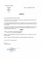 Arrêté Marion chantier 2020.12.15